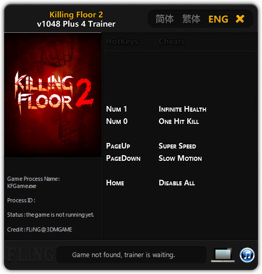 Killing Floor 2: Трейнер/Trainer (+4) [1048] {FLiNG}